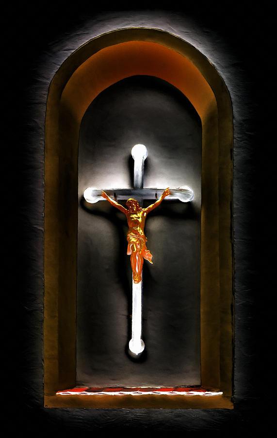 Jesus Digital Art - Believe by Linda Koelbel