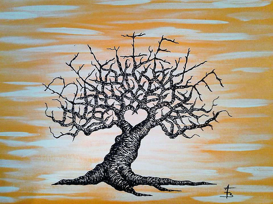 Believe Love Tree by Aaron Bombalicki