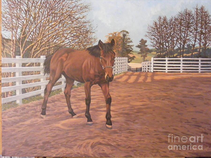 Belinda Painting by Dan Remmel