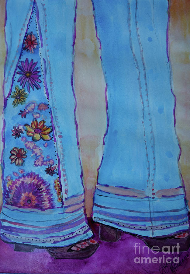 Bell Bottoms Painting