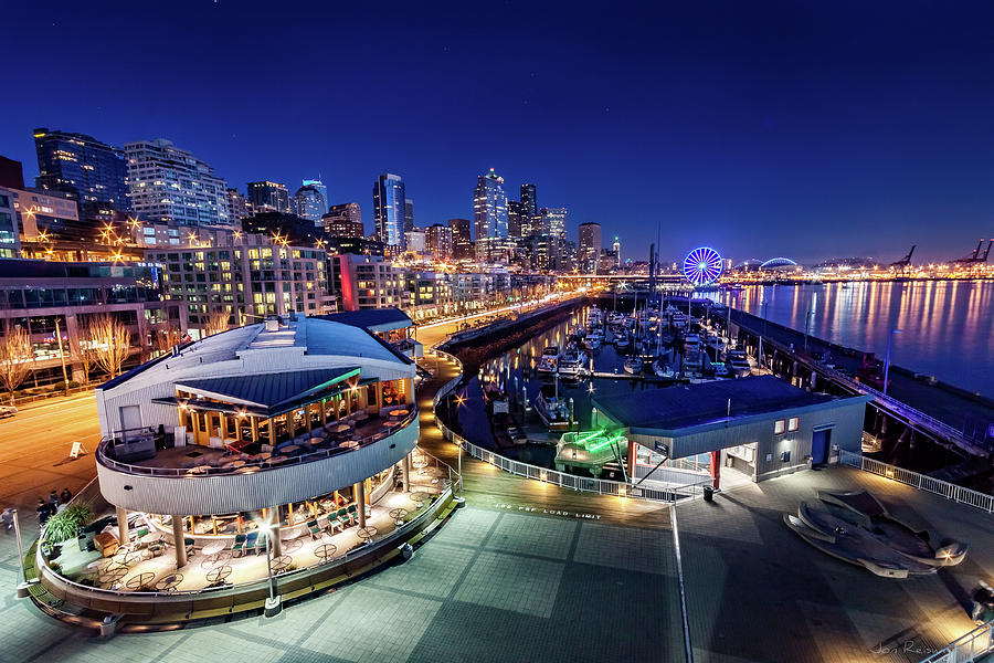 Seattle Photograph - Bell Harbor by Jon Reiswig
