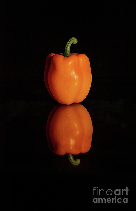 Background Photograph - Bell Pepper by Bin Wang