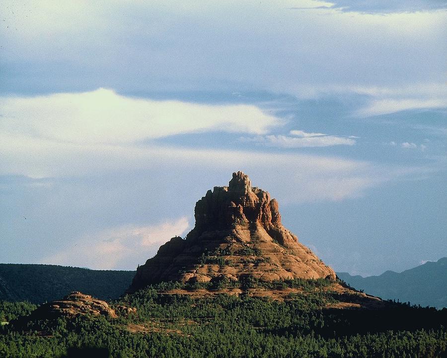Bell Rock Photograph - Bell Rock by Gary Wonning