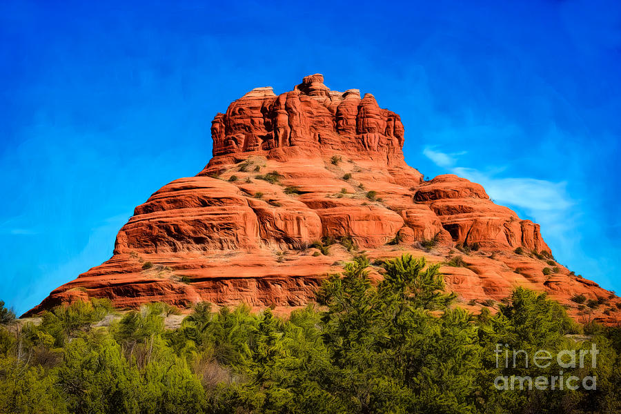 Arizona Photograph - Bell Rock Tower by Jon Burch Photography