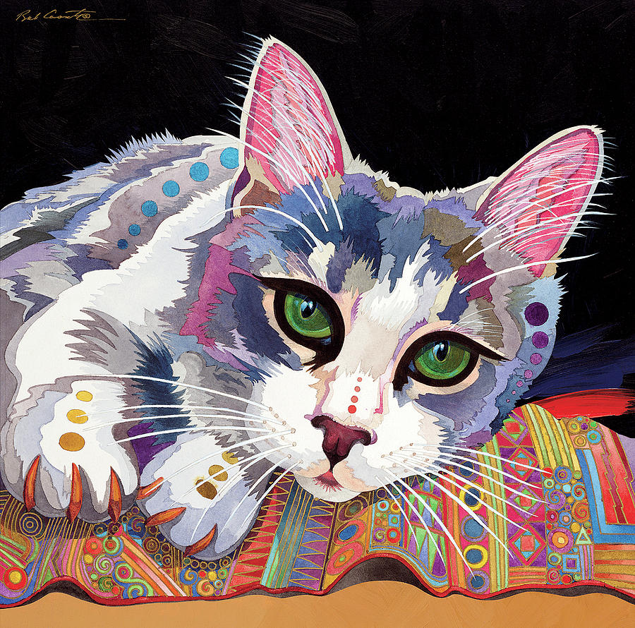Abstract Realism Painting - Bella by Bob Coonts