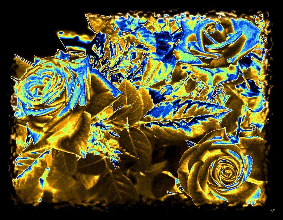 Bella Flora Digital Art - Bella Flora 9 by Will Borden