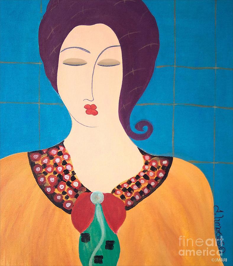 Bella Painting by Jacquelinemari