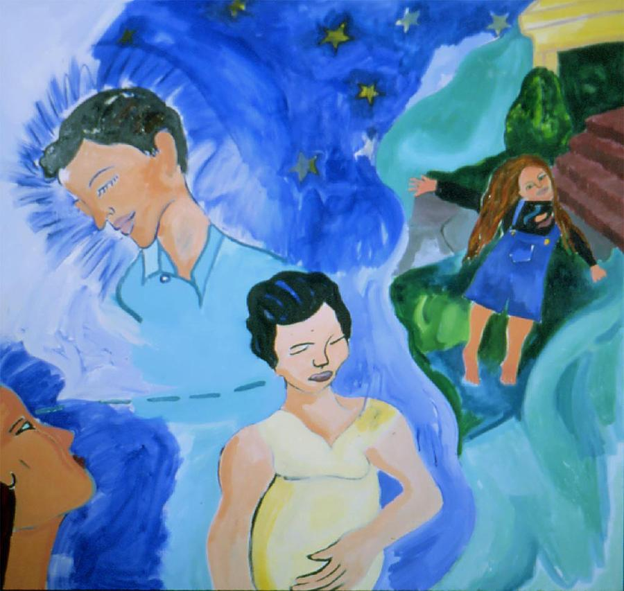 Bella Painting by Nina Talbot