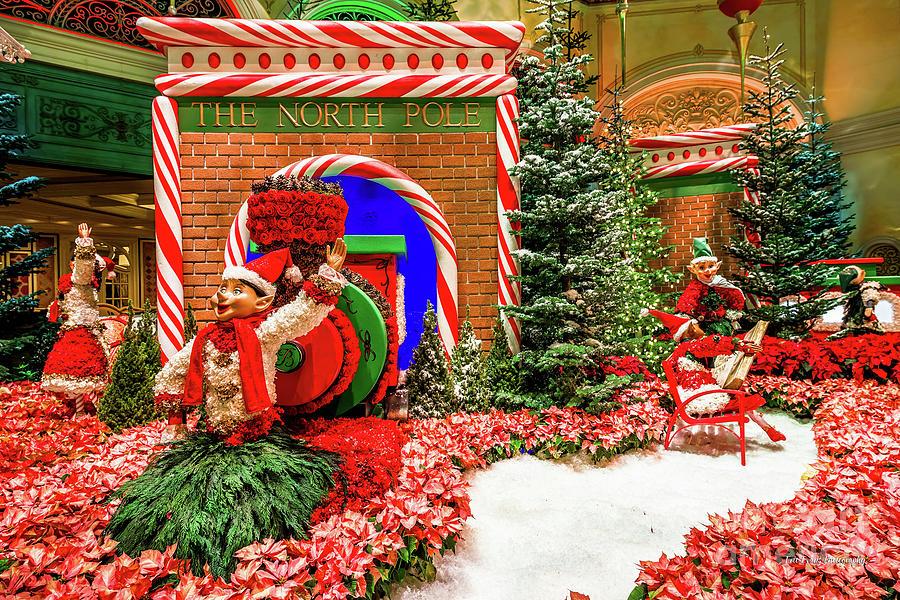 North Pole Decoration