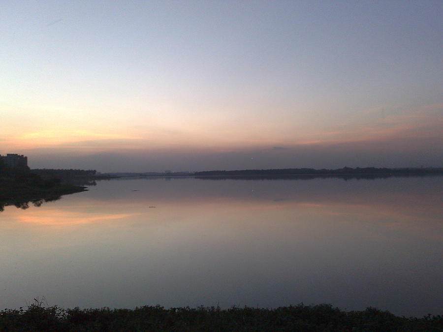 Bangalore Photograph - Bellandur Lake  by Ayeesha Masrath