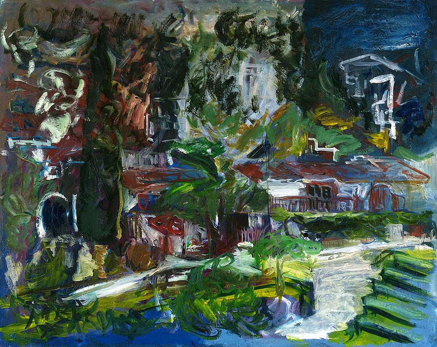 Landscape Painting - Bellapais by Joan De Bot