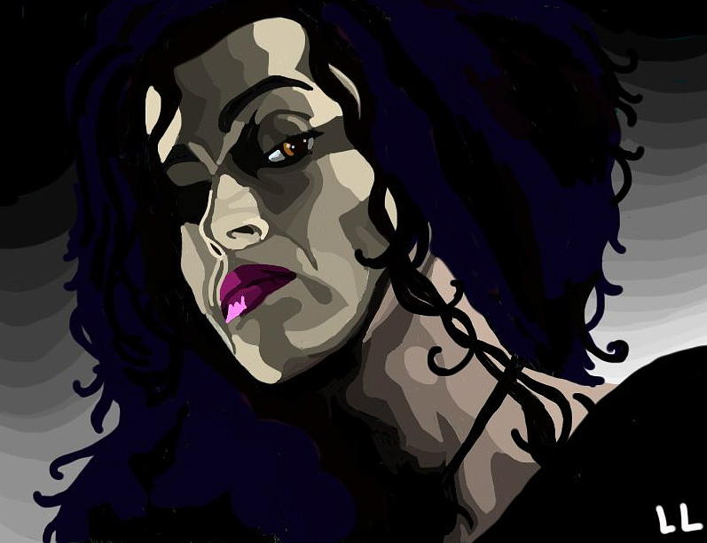 Harry Potter Digital Art - Bellatrix by Lisa Leeman
