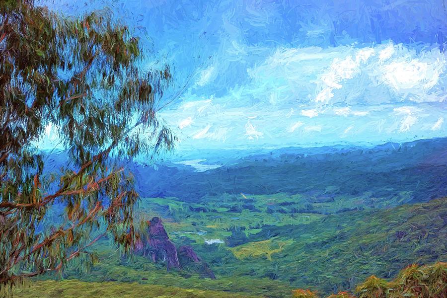 Park Digital Art - Bellbird Outlook by Chris Hood