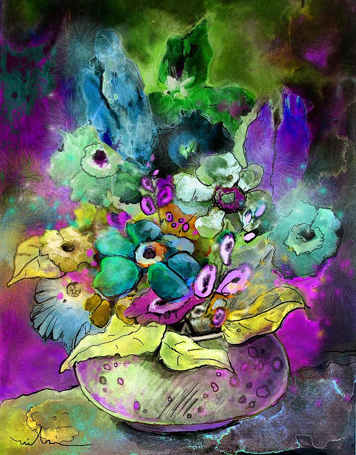 Flowers Painting - Belle De Nuit by Miki De Goodaboom