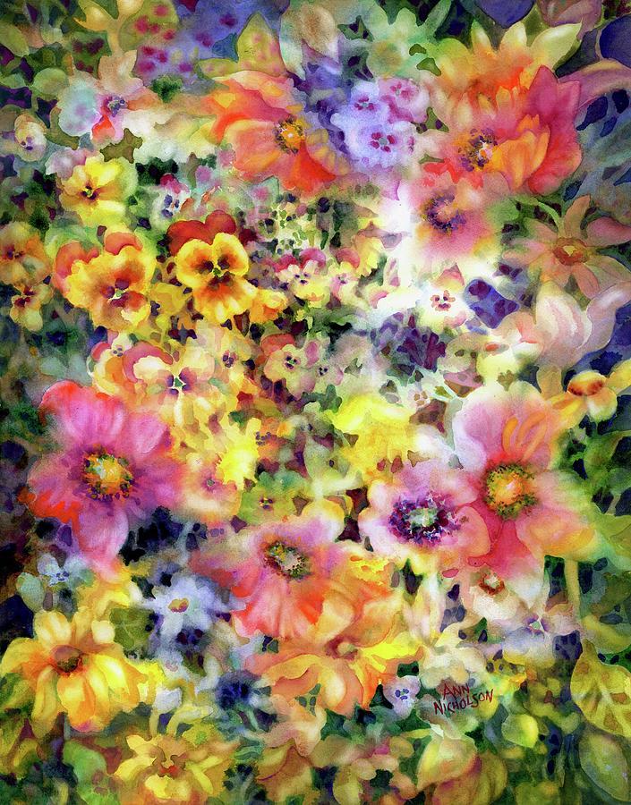 Belle Fleurs I by Ann Nicholson