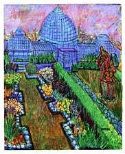 Belle Island Glasshouse Painting by Don Thibodeaux