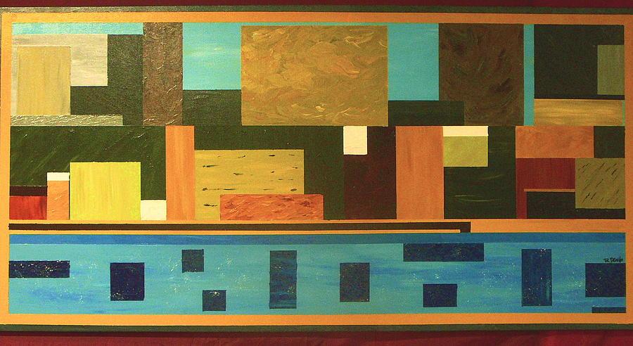 Bellezza Della Terra  Painting by Rita  DiCello