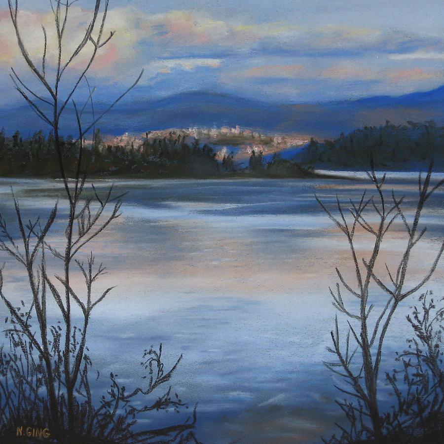 Bellingham Painting - Bellingham In Winter by Nancy Ging