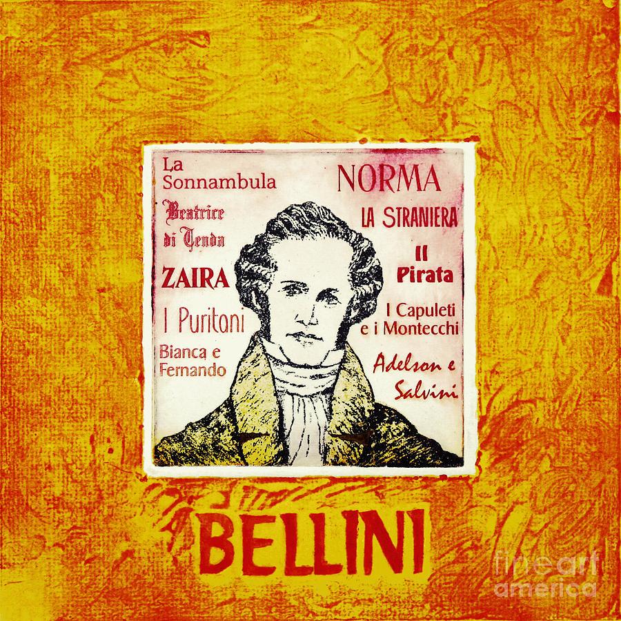 Bellini Mixed Media - Bellini Portrait by Paul Helm
