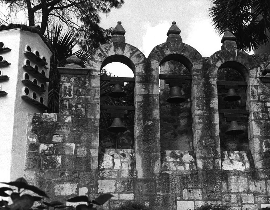 Bells Photograph - Bells of the Alamo by Tommy Reynolds