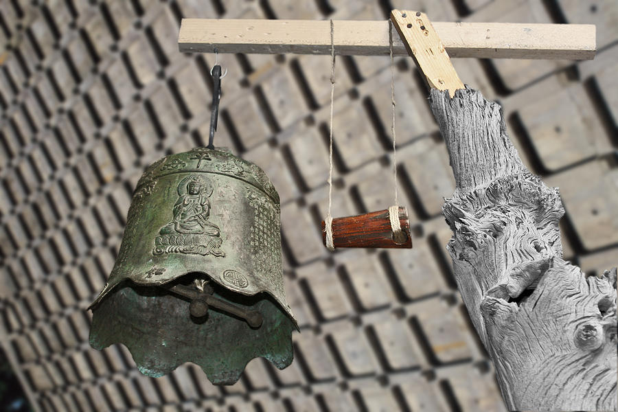 Mallet Photograph - Bells Of The Orient by Christine Till