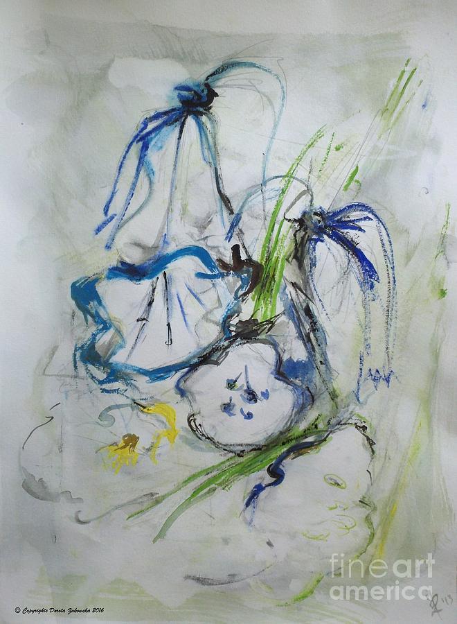 Bells Spring Ringing Painting