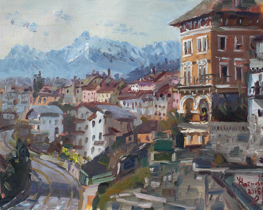 Belluno Italy Painting By Ylli Haruni