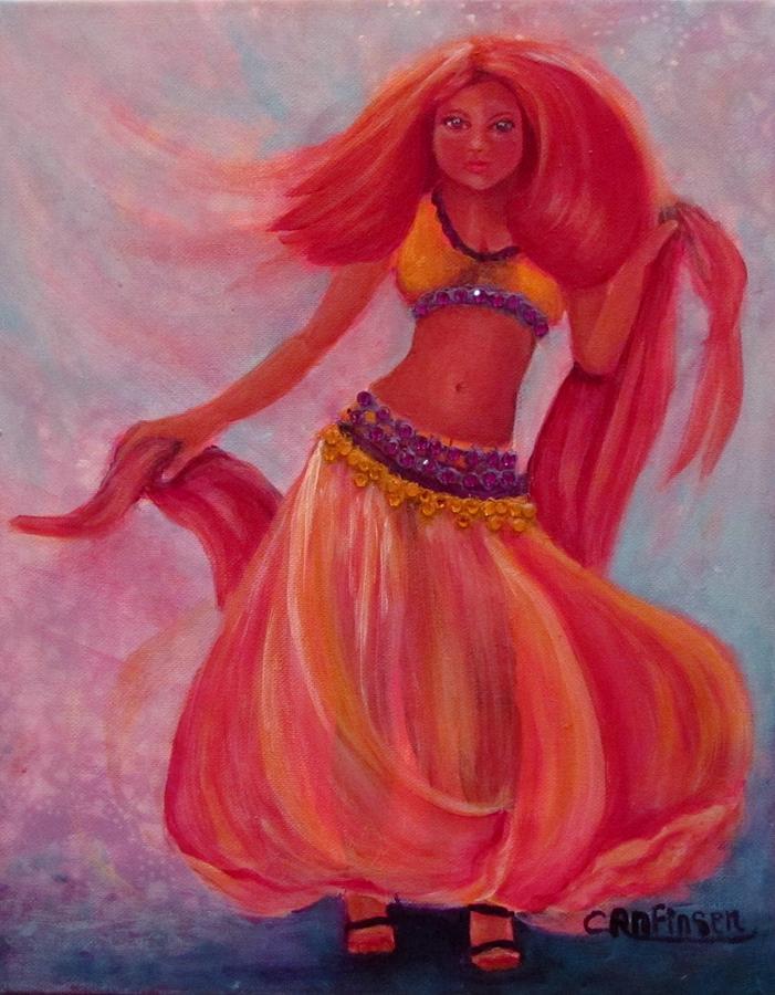 Belly Dancer by Carol Allen Anfinsen