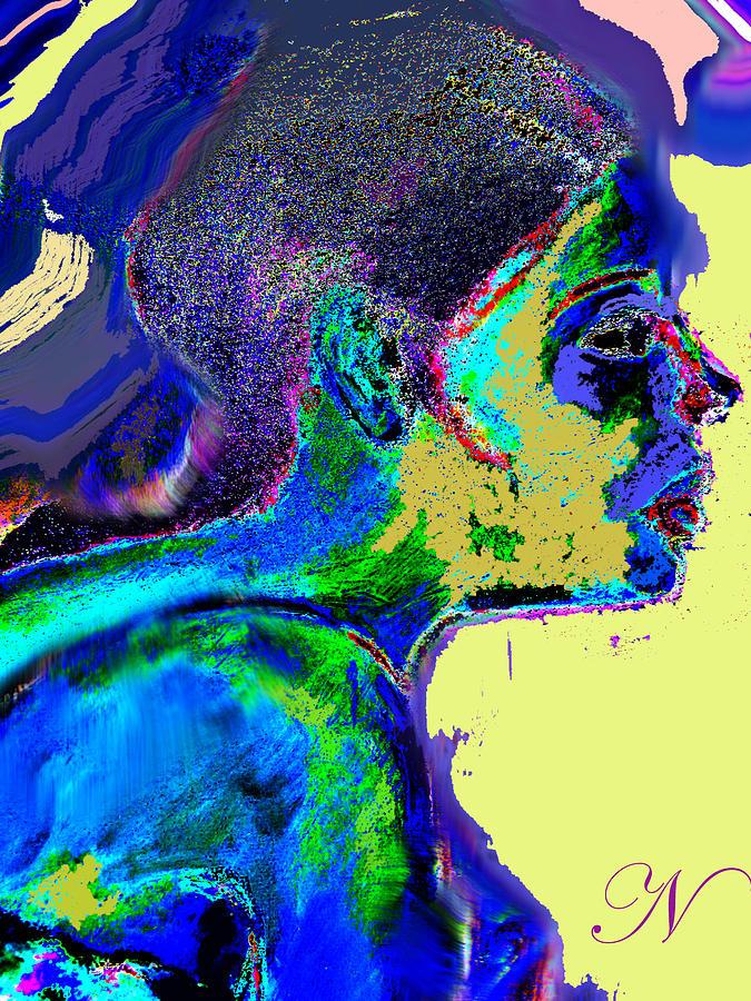 Portrait Digital Art - Belong by Noredin Morgan