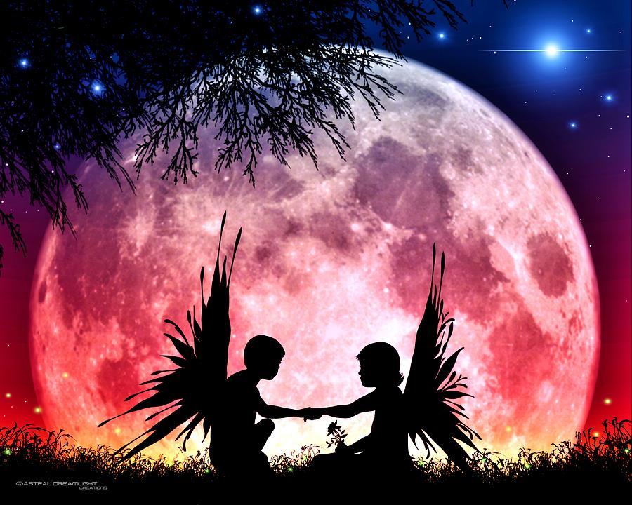 Fantasy Digital Art - Beloved by Dreamlight  Creations