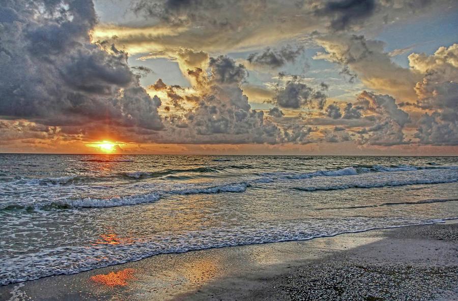 Florida Sunset Photograph - Beloved - Florida Sunset by HH Photography of Florida