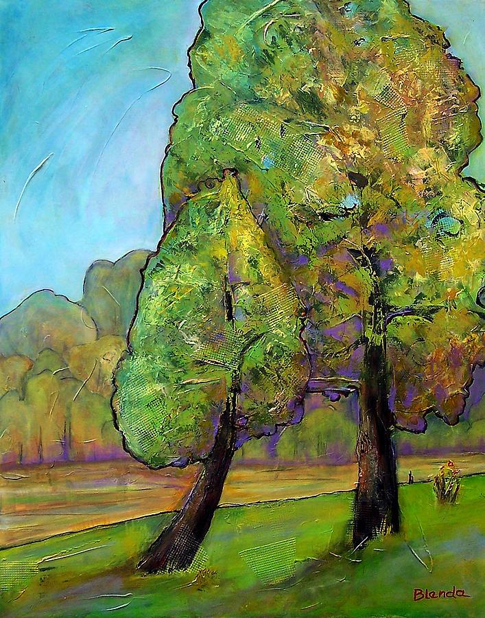 Tree Painting - Beloved One by Blenda Studio