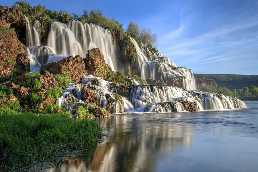 Below Fall Creek Falls by Michael Morse