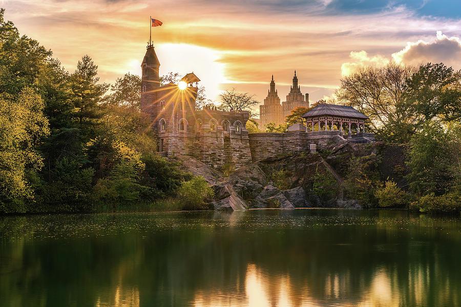 Belvedere Photograph - Belvedere Castle by Mihai Andritoiu