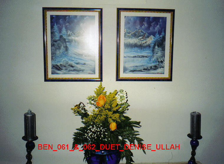 Scenery Painting - Ben-061 And Ben-062 Dual Scenery by Benito Alonso