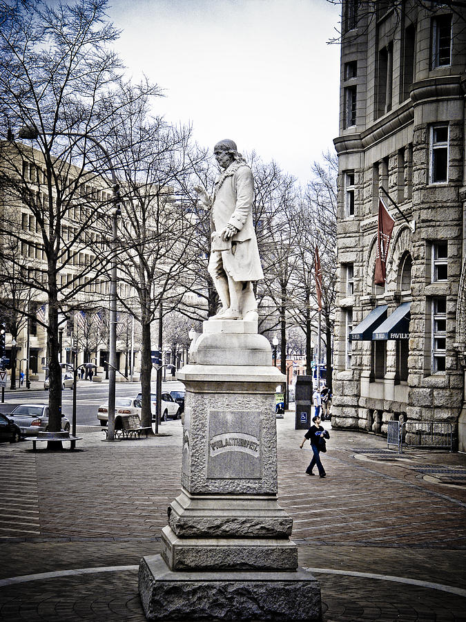 Washington Dc Photograph - Ben Franklin by Craig Perry-Ollila