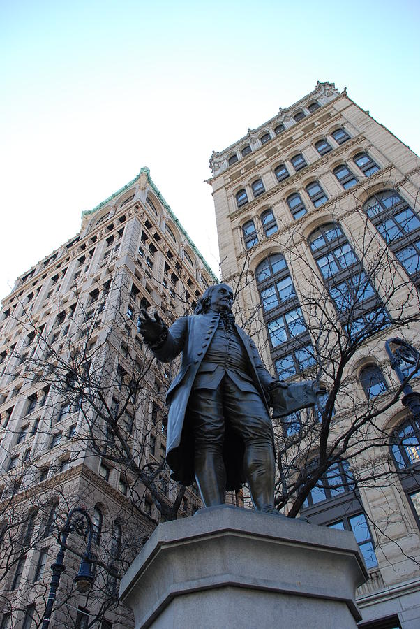 Architecture Photograph - Ben Franklin by Rob Hans