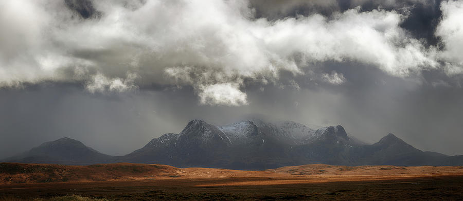 Sutherland Photograph - Ben Loyal Panorama by Grant Glendinning