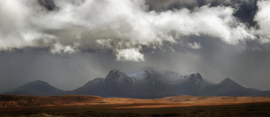 Ben Loyal Panorama by Grant Glendinning