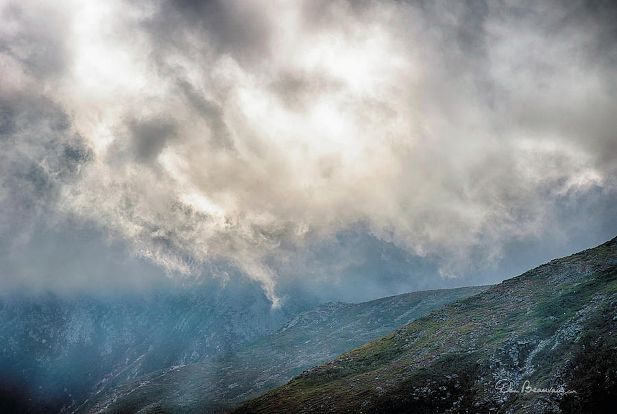 Beneath Clouds Of Mount Washington 7496 Photograph