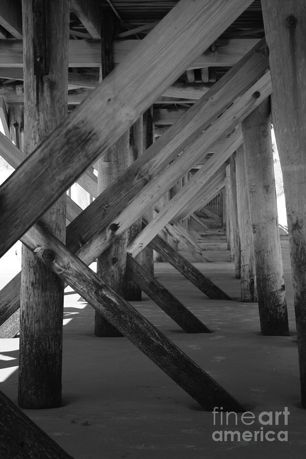 Beneath The Docks Day Photograph by Jamie Lynn