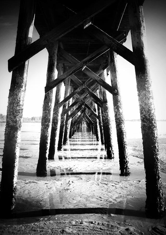 Pier Photograph - Beneath The Pier by Tara Turner