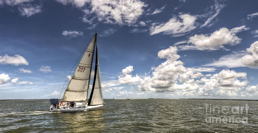 Sailboat Photograph - Beneteau First 40.7 by Dustin K Ryan