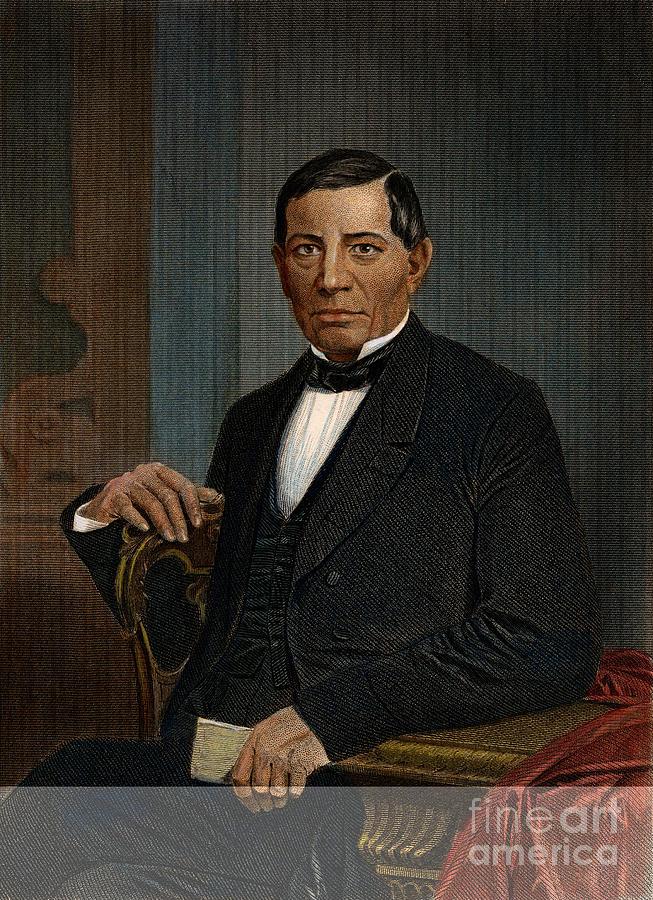 1870 Photograph - Benito Juarez (1806-1872) by Granger