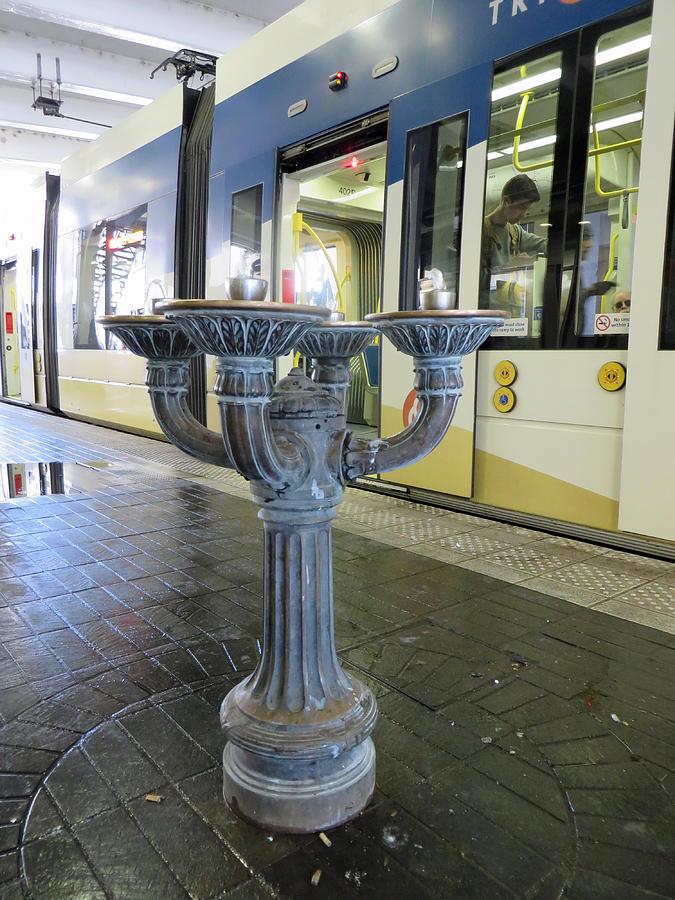 Benson Bubbler Fountain by Elizabeth Rose