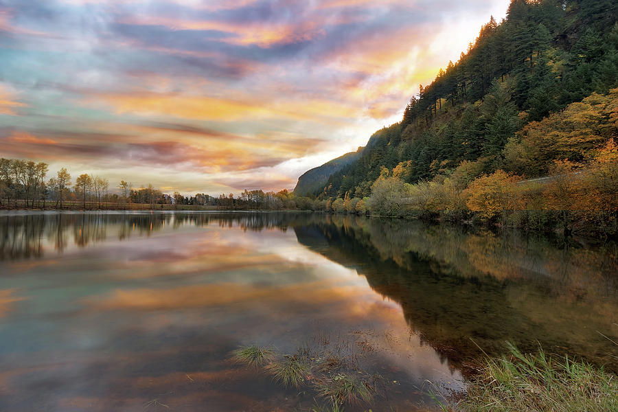State Park Photograph - Benson State Recreation Area In Fall by David Gn
