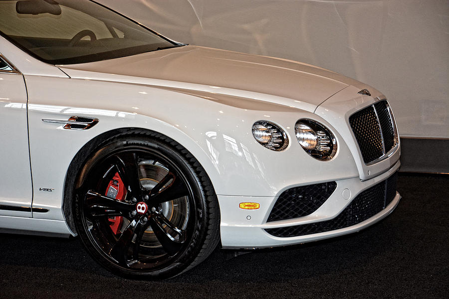 Luxury Photograph - Bentley Continental Gt V8s by Mike Martin