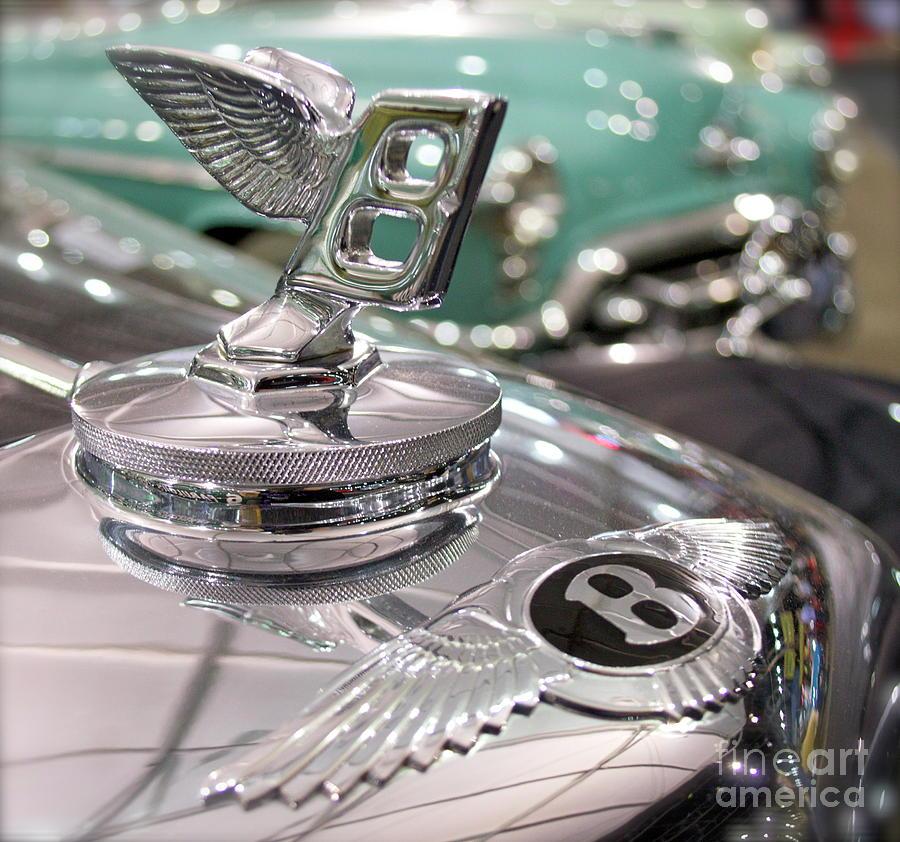 Bentley ornament  by Pamela Walrath