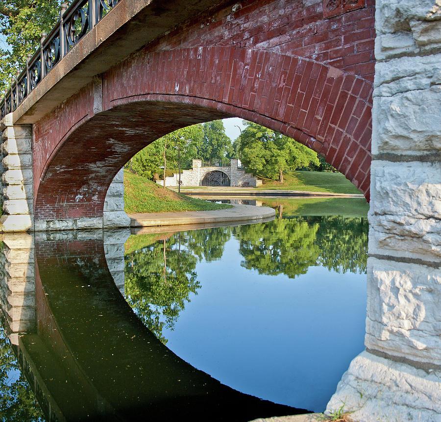 Benton Park Photograph - Benton Park Close Up by Mark Braun