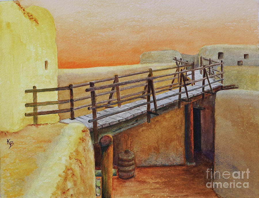 Bent's Old Fort by Karen Fleschler